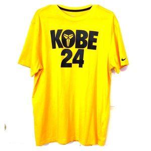 Men's XL Kobe Bryant Graphic Dri-Fit Tee.